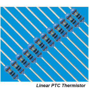 Hw68 PTC Thermometrics Lptc Linear Ceramic PTC Thermistor 10k 5% pictures & photos