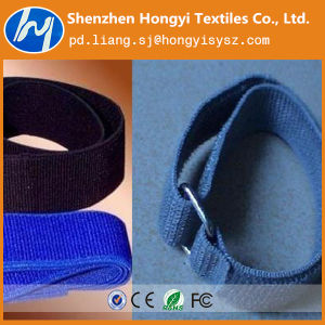 Nylon Colorful Durable Adjustable Elastic Loop Fastener Tape pictures & photos