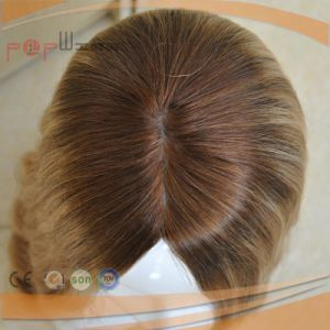 Human Hair Silk Top Women Wig (PPG-l-0143) pictures & photos