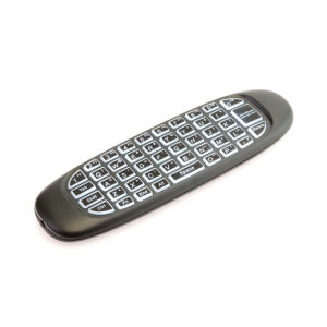C120 Backlit Air Mouse with Mic 2.4G Hz Mini Keyboard pictures & photos