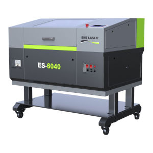 Automatic CO2 Metal Wood Acrylic Nonmetal of New Top Quality of CO2 Laser Cutting Machine Es-6040 pictures & photos