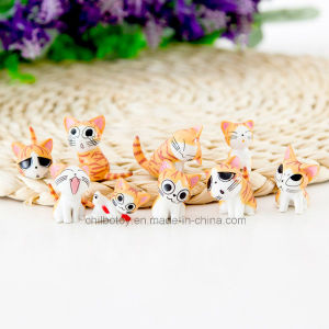 Cartoon Cheese Cat Series Plastic Figure Toys pictures & photos