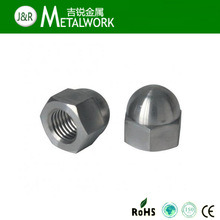 SS304 SS316 Stainless Steel Hex Acron Cap Nut (DIN1587) pictures & photos