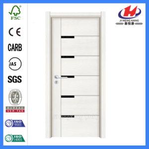 Single Prehung Interior Wooden Melamine Door (JHK-MD03) pictures & photos