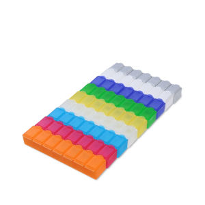 Promotional Plastic Cheap 7 Days Pill Box pictures & photos