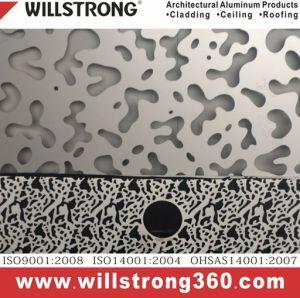 PVDF Coating Golden Mirror Aluminum Plate pictures & photos