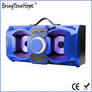 Wired microphone Portable Speaker in Wood Material (XH-PS-722) pictures & photos