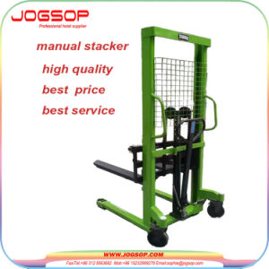 2500kg Hydraulic Manual Hand Lift Stacker pictures & photos