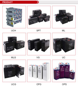 12 Volts Front Terminal VRLA Batteries Deep Cycle AGM Gel Lead Acid Battery pictures & photos