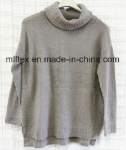 Turtleneck Long Sleeve Sweater for Women pictures & photos