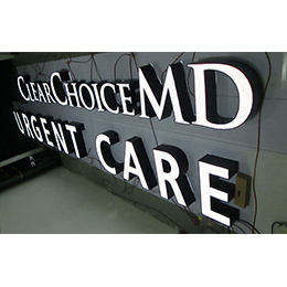 LED Advertising Acrylic Stainless Steel Facelit Channel Letters pictures & photos