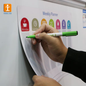 Dry Erase Markers to Fill in The Reusable Calendar Recyclable Magnetic Massage Board pictures & photos