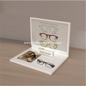 Custom Plastic Acrylic Contact Lenses Display Cabinet pictures & photos