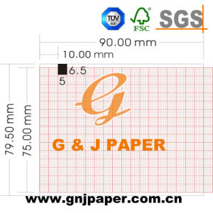 50mm*30m Thermal Recording Paper for Single-Channel ECG Fx-2111 pictures & photos