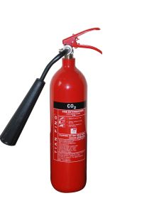 2kg CO2 Fire Extinguisher 114mm