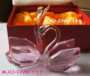 Crystal Wedding Gift Crystal Swan (JD-DW-110-111) pictures & photos