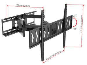 New Arrival Swivel Full Motion TV Wall Mount for 37-70 Inch TV