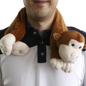 Hot Cold Ice Gel Pack for Pain Relief Beneficial to Human Body Health Animal Monkey Neck Pillow (p20095)
