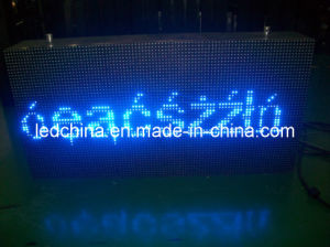 Outdoor Blue Color LED Moving Message Sign Board pictures & photos