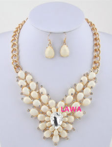 Sweet Fashion Lady Necklace Set (LSS48)
