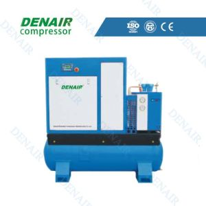 Full Performance Integrated Air Compressor with Air Tank pictures & photos