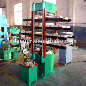 Rubber Floor Tile Vulcanizing Press Machine / Rubber Floor Vulcanizer pictures & photos