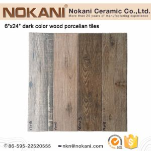 Texture Finish Wood Plank Porcelain Floor Tile Wooden Wall Tiles pictures & photos