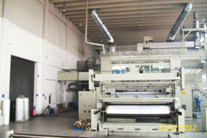 2.4m Three Die PP Spun Bond Non Woven Fabric Machinery pictures & photos