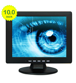 10 Inch LCD Screen Monitor with 800X600 Pixels (640X480 pixels optional)