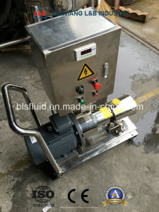 Cosmetic Shampoo Homogenizer Mixer Pump pictures & photos