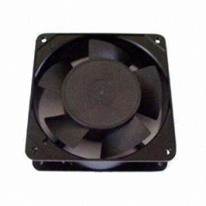 Axial Fan, Made of PBT Plastic, Measures 120 X 120 X 38mm