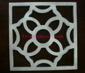 Customized Aluminum Decorative Rectangle Engraved Mesh Ceiling
