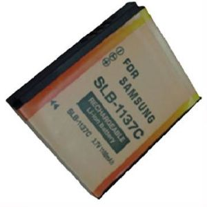 Digital Camera Battery/Camcorder Battery for Samsung (SLB-1137C)