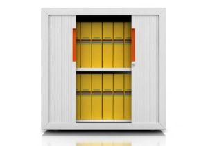 Steel Tambour Door Filing Cabinets (iCab-RD) pictures & photos