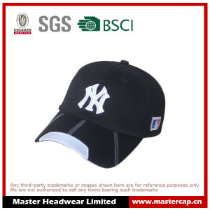 Stretch Cap with 3D Outline Embroidered pictures & photos