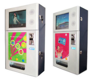 Condom Vending Machine With LCD Promotion Screen pictures & photos