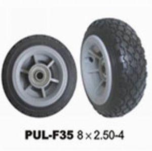 280/250-4 Black PU Foamed Wheelbarrow Wheels pictures & photos