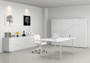 Fashion &Modern Office Manager Desk (LEDK1009-20) -Line pictures & photos