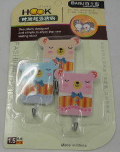 Plastic Adhesive Hooks/ Cloth Hooks/Bathroom Hooks pictures & photos