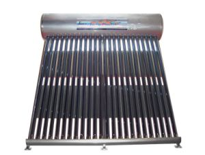 Non-Pressurized Solar Water Heater with Stainless Steel-3