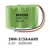 Naccon Ni-Mh Rechargeable Battery Pack (3NH-2/3AA600) pictures & photos