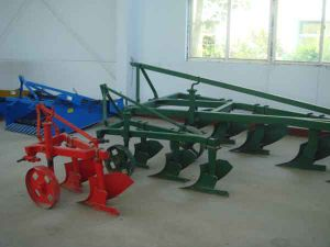 Small Tractors Agricultural Use Furrow Plough