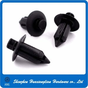 Round Head Black Plastic Nylon Push Snap Rivet pictures & photos