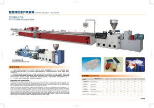 PVC Profiles Extrusion Line