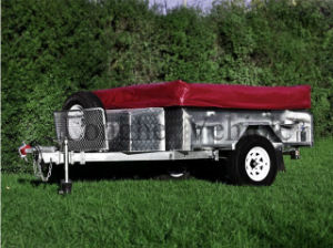 Steel Checker Plate Soft Floor Tent Trailer (CPT-07) pictures & photos