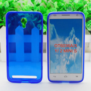 TPU Case with Glaze for Alcatel Idol Mini S/Ot6036A