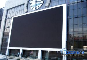 P16 LED Video Display, Outdoor Fullcolor Train Station