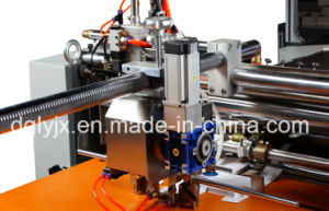 Visual Positioning Machine for Making Rigid Box Making Machine Without Corner Tape pictures & photos