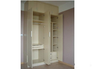 MFC Wardrobe/Bedroom Furniture Melamine Chipbobard Wardorbe/MDF Wardrobe pictures & photos