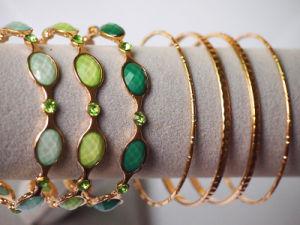Fashion Multi Bangle with Lovely Stones